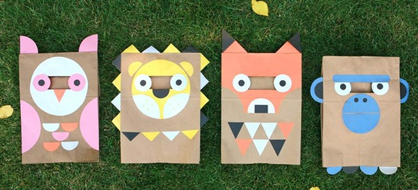 Máscaras de Papel